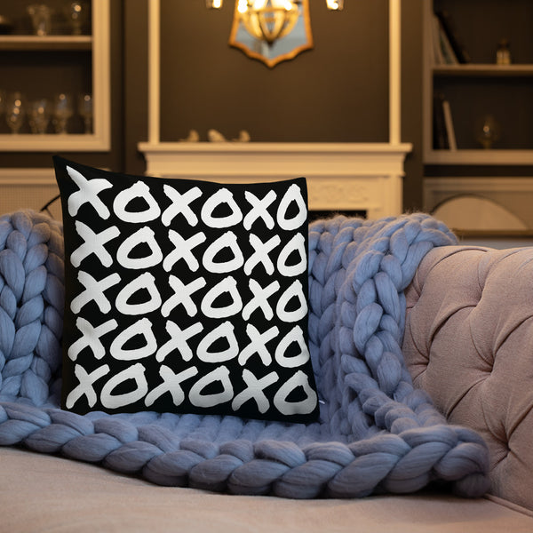 XOXO Throw Pillow - Shabaca Designs