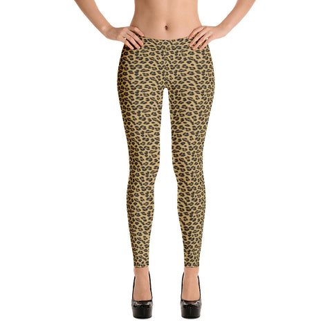 Lovely Leopard Leggings - Shabaca Designs