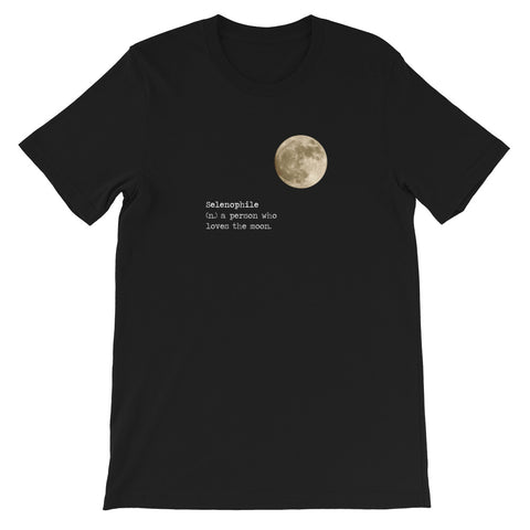 Selenophile Full Moon T-Shirt - Shabaca Designs