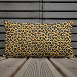 Lovely Leopard Throw Pillow - Shabaca Designs