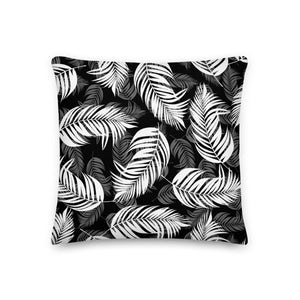 Palm Village Throw Pillow - Shabaca Designs