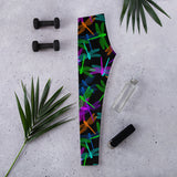 Dragonfly Glow Leggings - Shabaca Designs