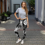 Palm Village Leggings - Shabaca Designs