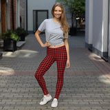 Buffalo Check Leggings - Shabaca Designs