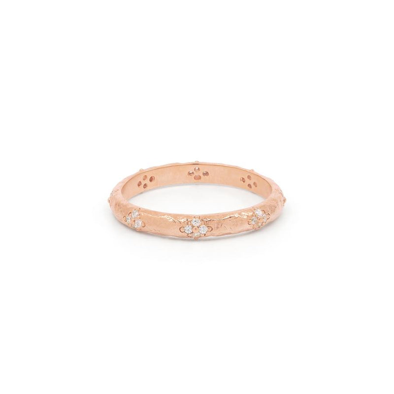 By Charlotte Luminous Ring in Rose Gold