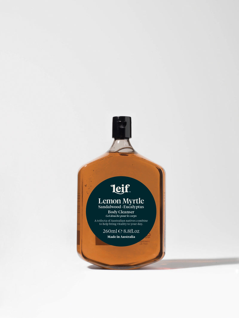 Leif Lemon Myrtle, Sandalwood and Eucalyptus Body Cleanser 260ml