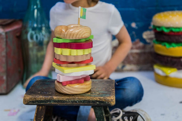 Buy Make Me Iconic Stacking Burger - at Quirk Collective Online