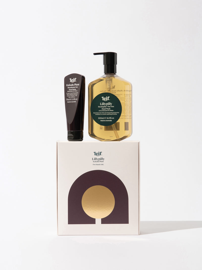 Leif Lillypilly Gift Pack - Hand Wash & Hand Balm