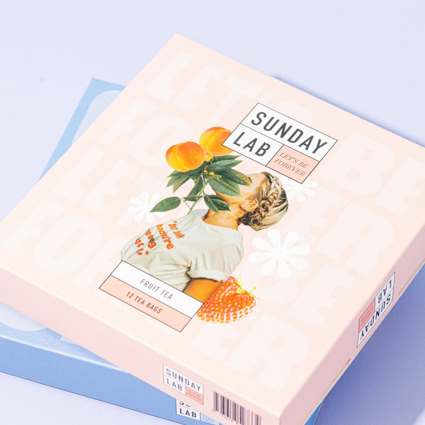 Sunday Lab 'Let's Be Forever' 12 x Fruit Tea Bags