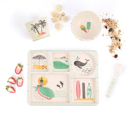 Love Mae Divided Plate Set - Byron Bay