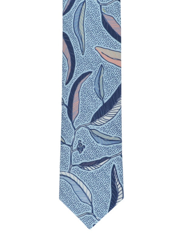 Peggy and Finn 'Eucalyptus' Cotton Tie