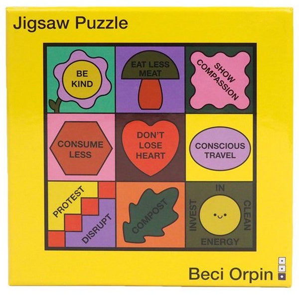 Third Drawer Down x Beci Orpin 'Don't Lose Heart' Jigsaw