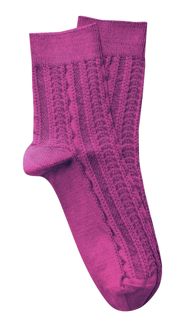 Tightology 'Tevere' Socks in Pink