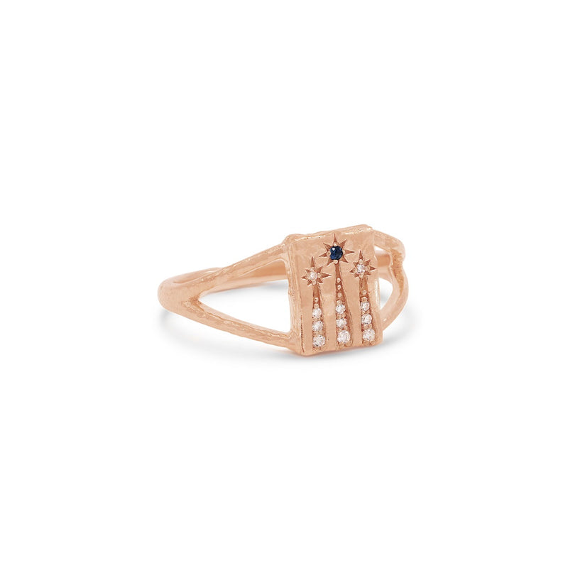 By Charlotte Magic of You Ring in Rose Gold