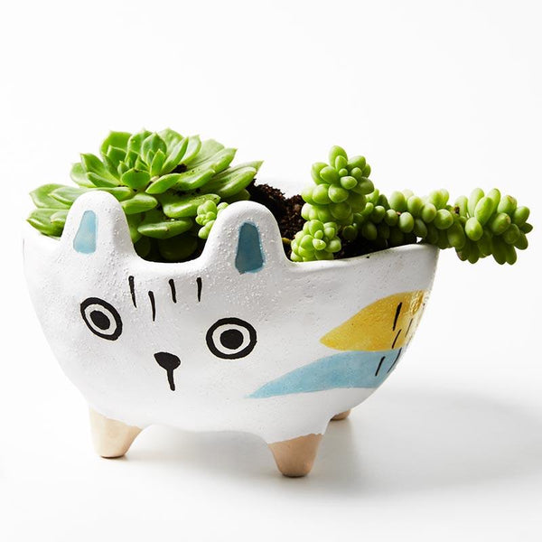 Buy Jones and Co White Rabbit Planter - at Quirk Collective Online