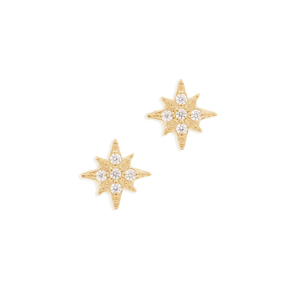 By Charlotte Starlight Earrings in Gold
