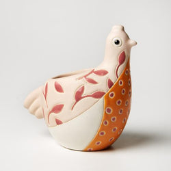 Jones and Co Birdie Planter in Pink