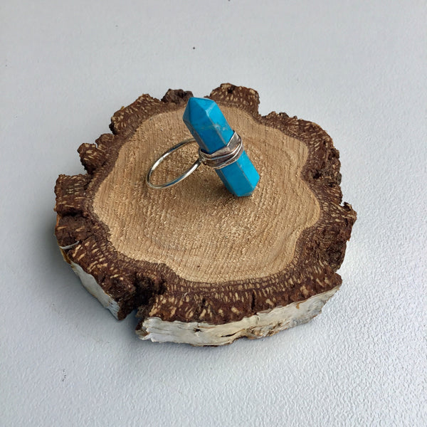 Buy Ernest and Joe Turquoise Stone Ring - at Quirk Collective Online
