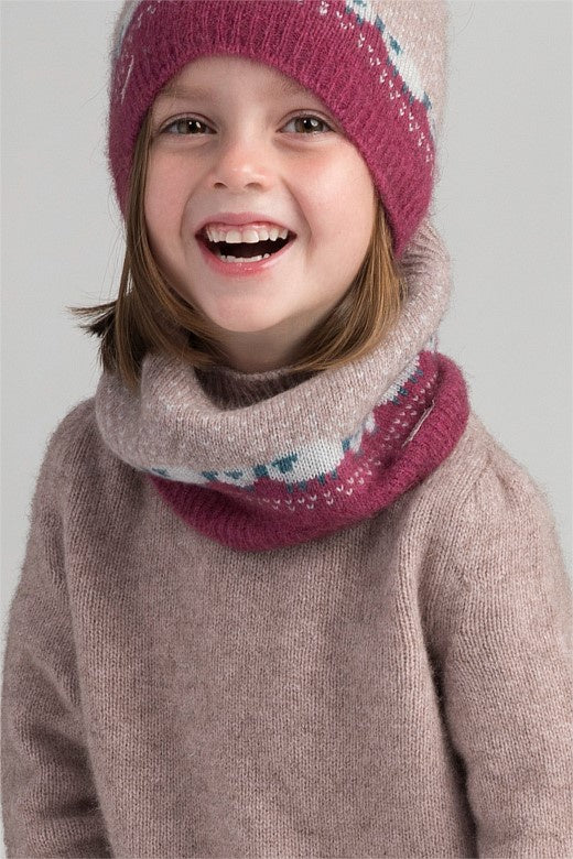 Merinomink Kids Snood in Wistful