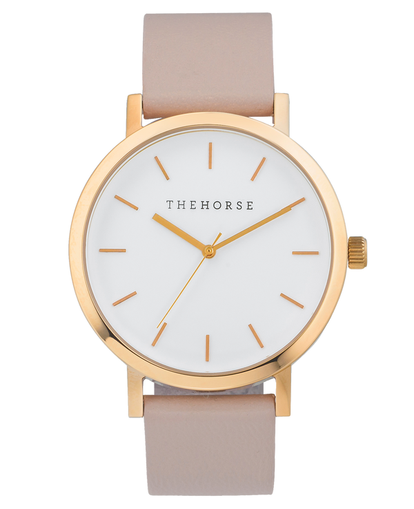 The Horse Original Blush Timepiece