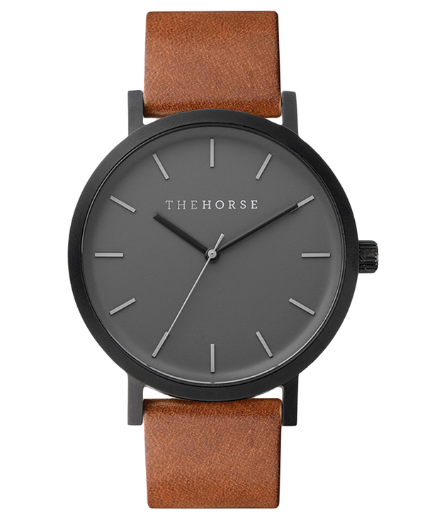 The Horse Original Tan Black Timepiece