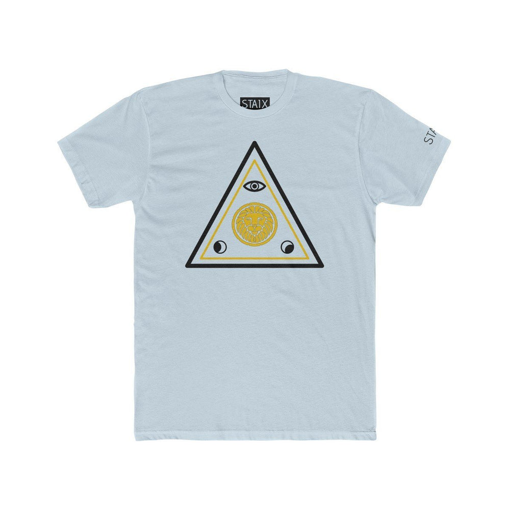 ASCENSION TEE T-Shirt Printify Solid Light Blue S
