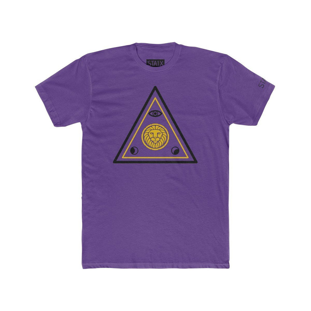 ASCENSION TEE T-Shirt Printify Solid Purple Rush S