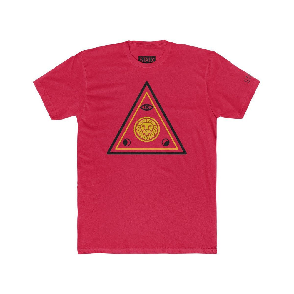 ASCENSION TEE T-Shirt Printify Solid Red S
