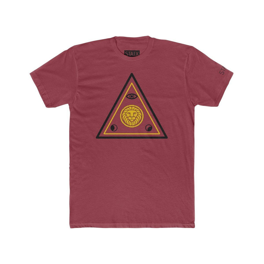 ASCENSION TEE T-Shirt Printify Solid Scarlet L