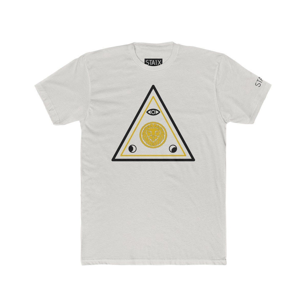 ASCENSION TEE T-Shirt Printify Solid Silver S