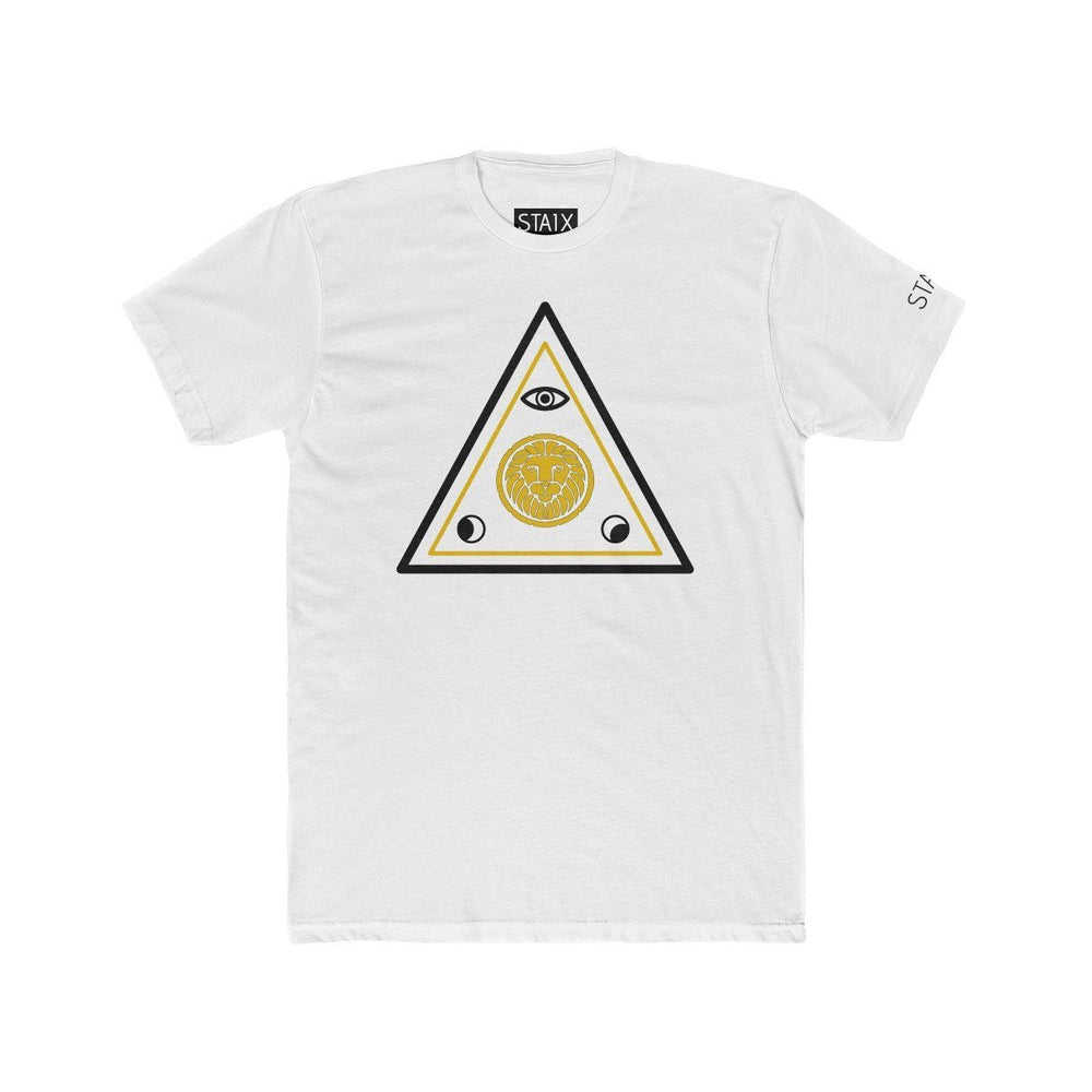 ASCENSION TEE T-Shirt Printify Solid White S