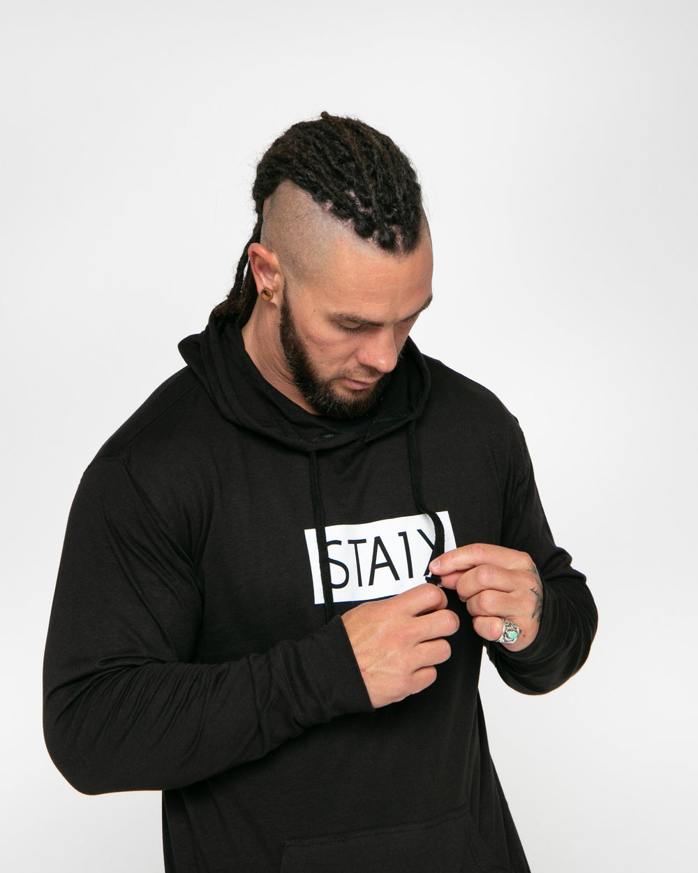 BOXER JERSEY HOOD STAIX