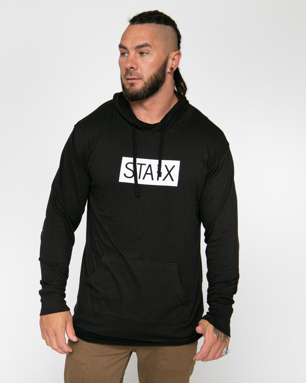 BOXER JERSEY HOOD STAIX S