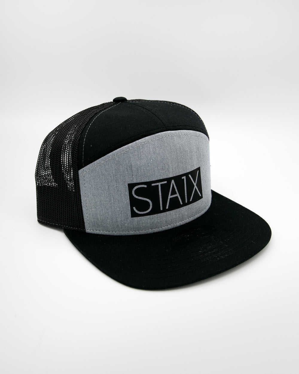 BOXER TWO TONE 7 PANEL - HEATHER GRAY HEADWEAR STAIX