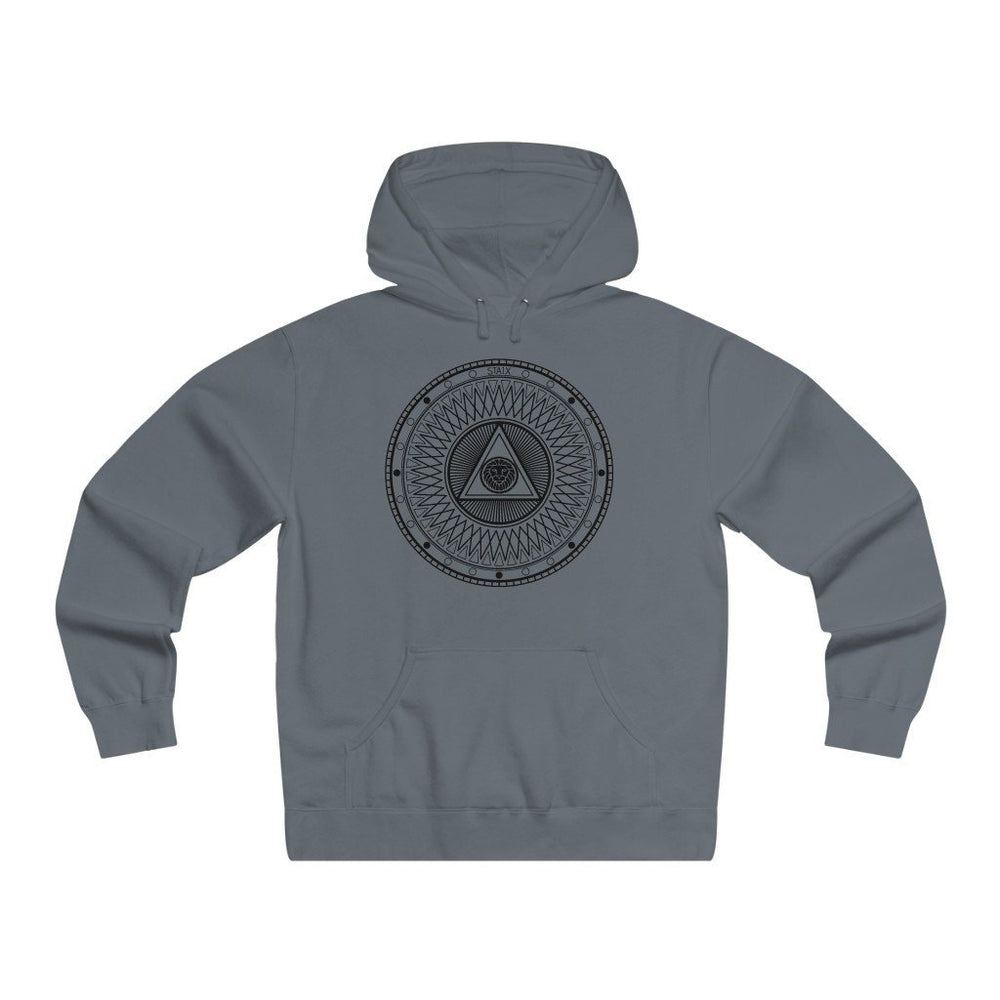 Compete Circle Hoodie Hoodie STAIX Solid Charcoral L