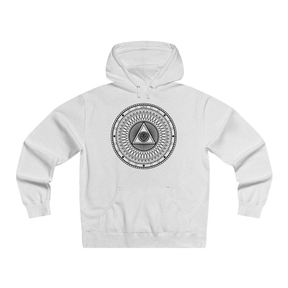 Compete Circle Hoodie Hoodie STAIX White S