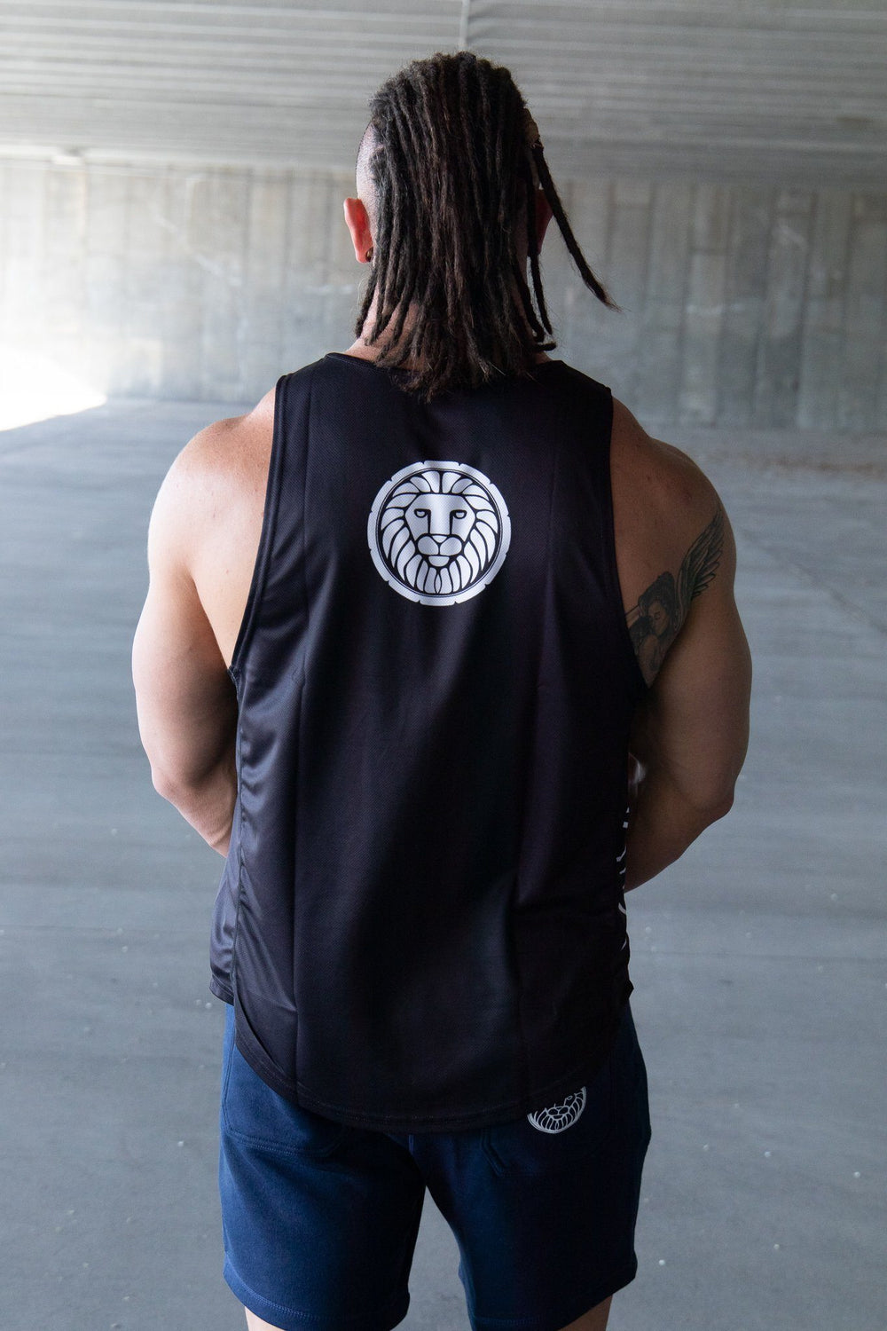 Draft Tank - Black MEN'S TANKS STAIX