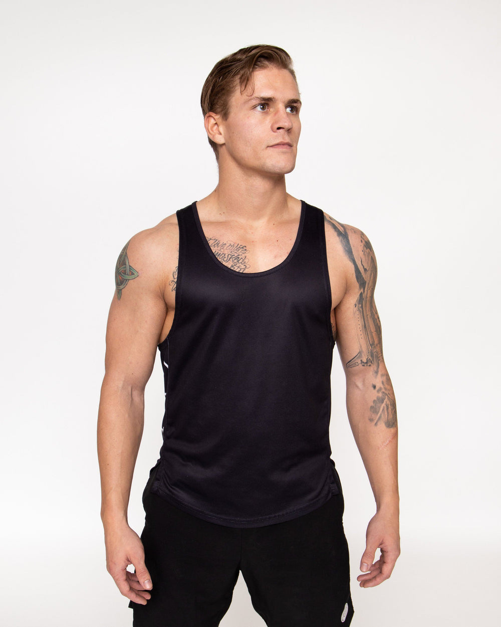 Draft Tank - Black MEN'S TANKS STAIX M
