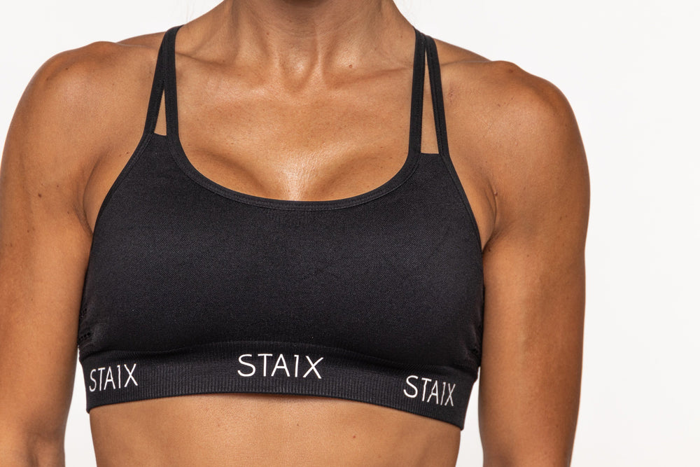 FORM Sports Bra - Black STAIX