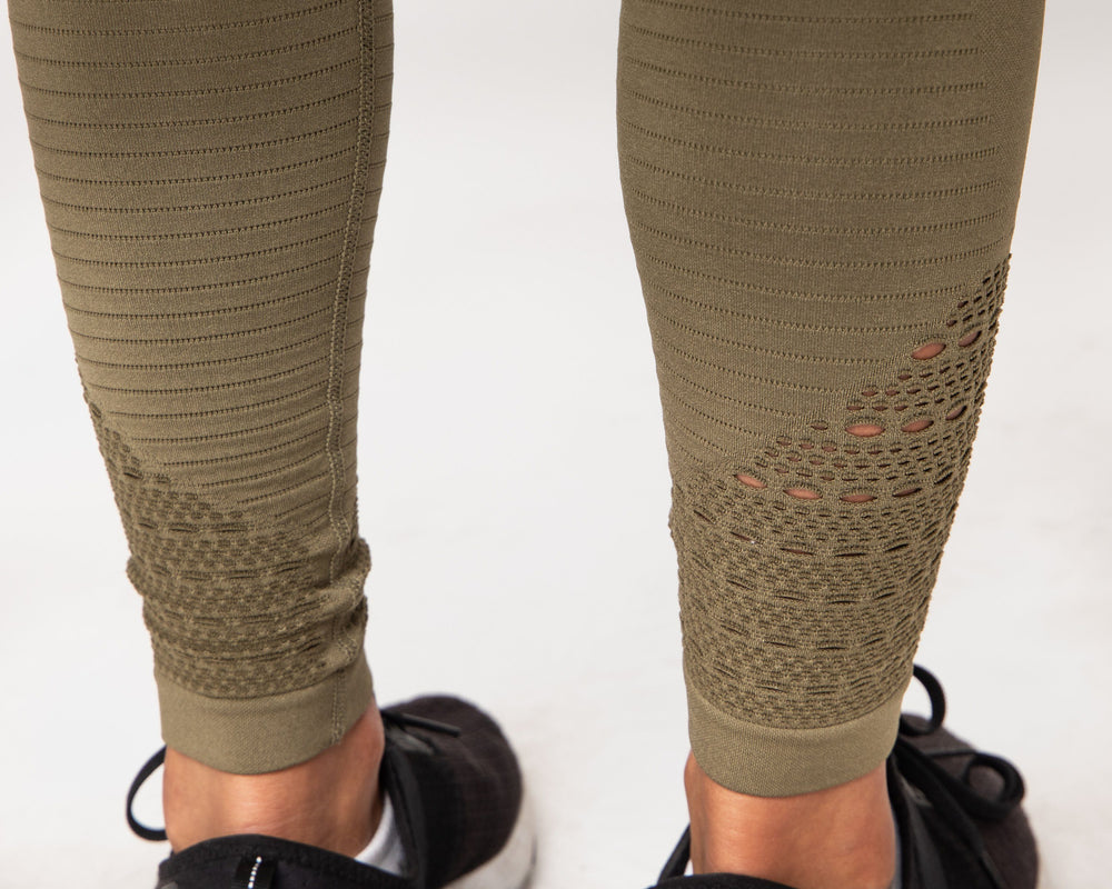 Hyper Leggings - Olive Green STAIX