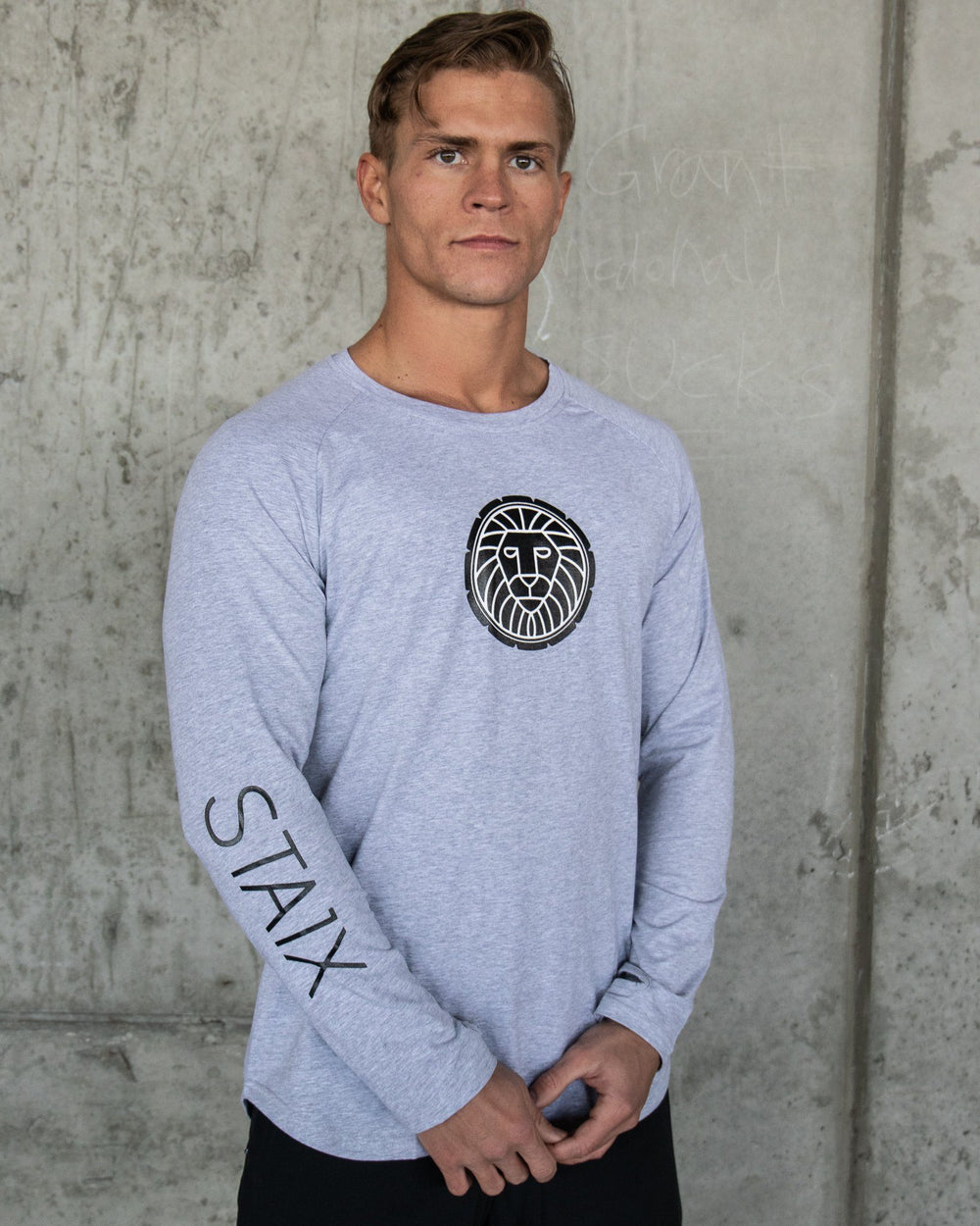 HyperLite Long Sleeve - Gray STAIX