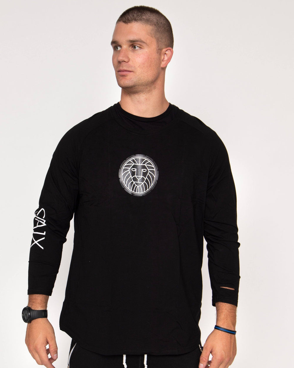 HYPERLITE LONG SLEEVE STAIX M BLACK