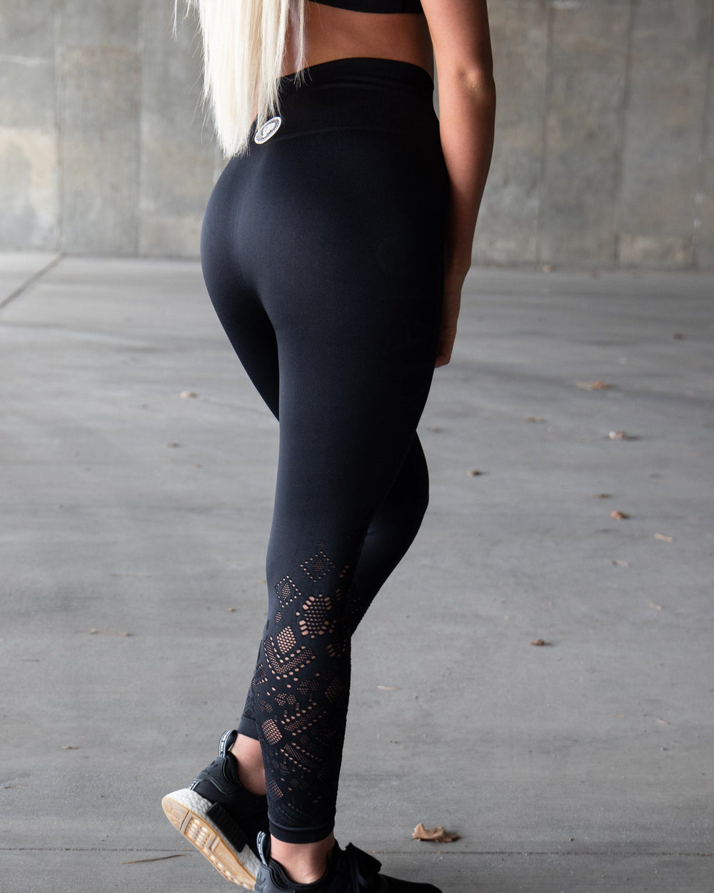 Lace Leggings - Black WOMEN'S LEGGINGS STAIX