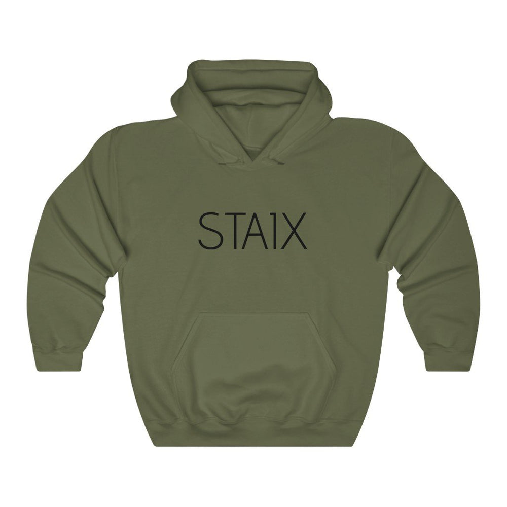 Men's Hooded Sweatshirt Hoodie Printify Military Green L