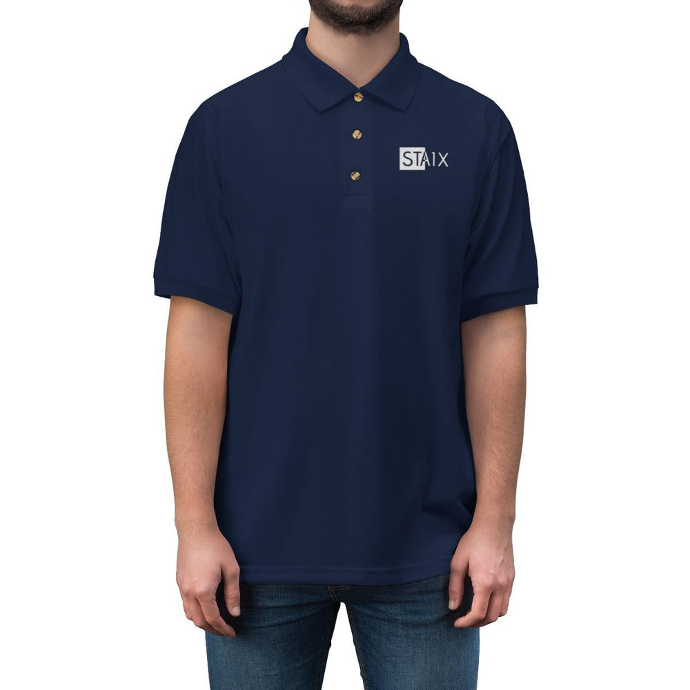 Men's Jersey Polo Shirt T-Shirt Printify
