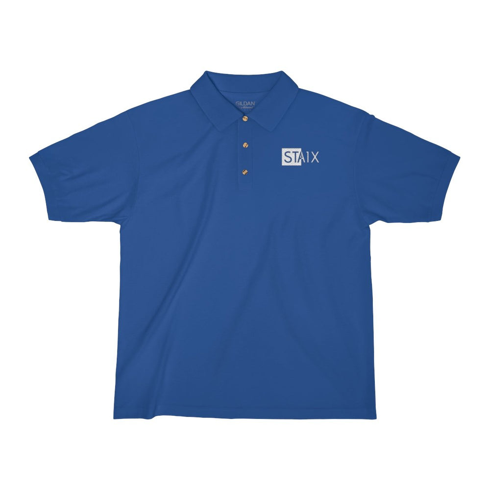Men's Jersey Polo Shirt T-Shirt Printify Royal S
