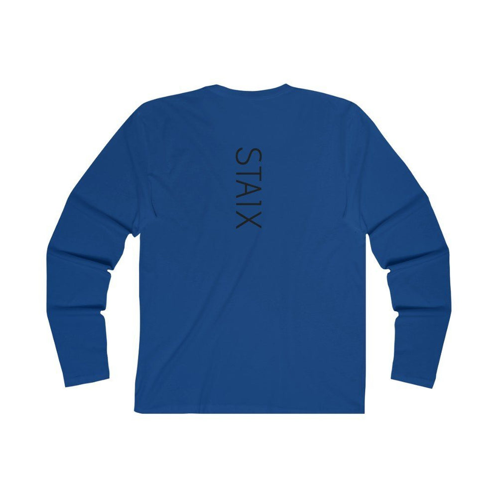 Men's Long Sleeve Crew Tee Long-sleeve Printify