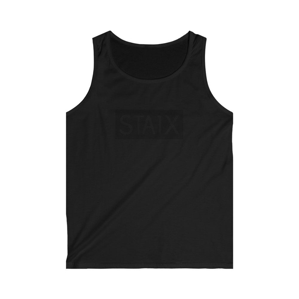 Men's Softstyle Tank Top Tank Top Printify Black S