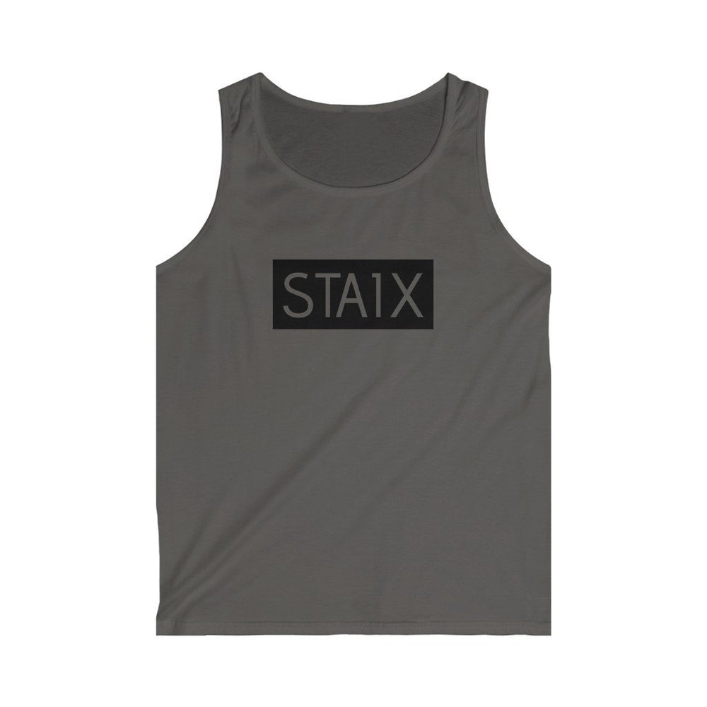 Men's Softstyle Tank Top Tank Top Printify Charcoal S
