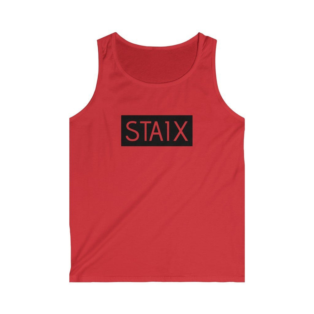 Men's Softstyle Tank Top Tank Top Printify Red S